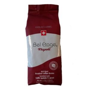 2-Bags-Bel-Etage-Gold-Label-Napoli-Blend-Whole-Bean-Coffee-250g-or-88oz-each-0