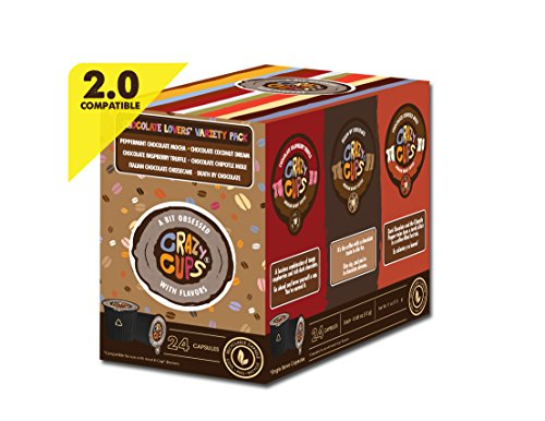 Crazy Cups Coffee Chocolate Lovers Single Serve Cups